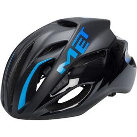 MET Rivale Helmet black/cyan